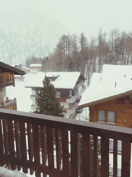 Showcase: February Snow ❄ Switzerland Amazing Saas Fee