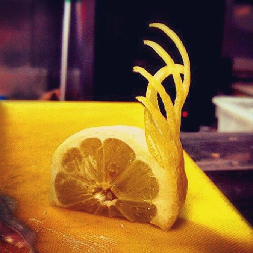 Creativity at work. Fooddecore Lemon Food Creativity Yellow Instapic Ig23com Instadaily L4l Skills