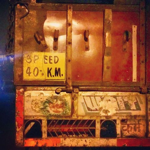कमॆ ही पूजा है| Karma is everything, the truck says that Truck Heavy Vehicle Speed Karma Lights Streetlight Streetphotography Androidography Load Carrier Nightlong Random Collection Abstract Lucknow Up32 Citystation Jubilee College Oldside Weathered Paint Rust Waitforside backgroundmarriageceremonybluelighting