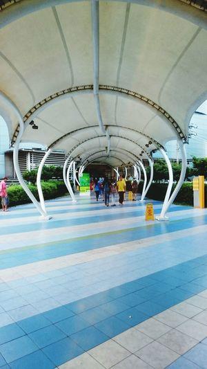 Xperiashot Cityscape Skygarden Discover Your City Manila City View  Skywalk Relaxing City My City