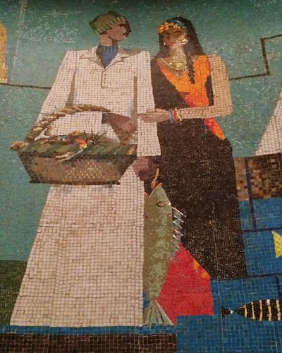 The beauty of mosaic artwork
