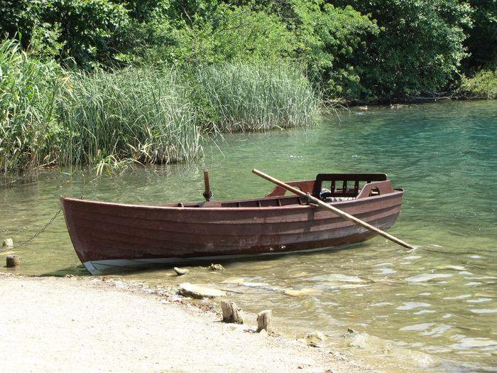 Boat Nature Plitvice National Park Plitvicelake