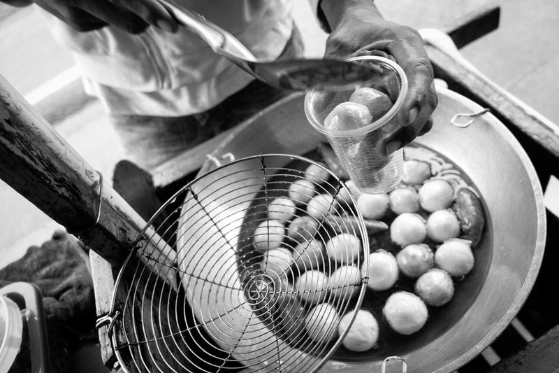 Streetphotography Streetfood Food Real People Blackandwhite Blackandwhite Photography