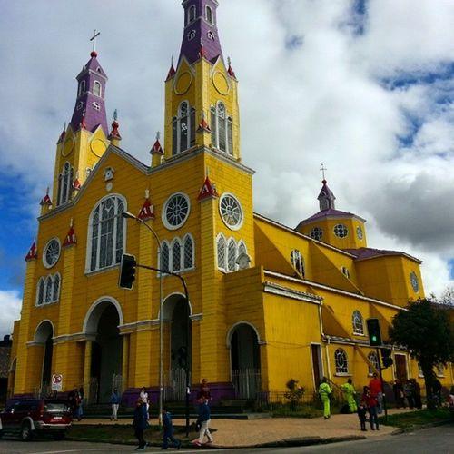 Amazing Church of San Francisco, Castro, Chiloe Island, Chile Church Castro Chilöe Chile