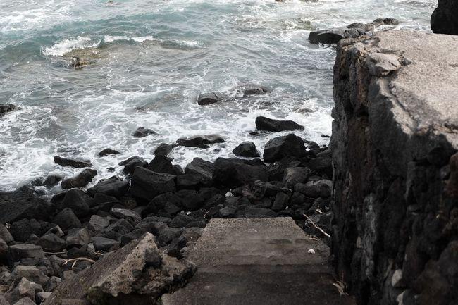 Water Sea Rock Beach Rock - Object Solid No People