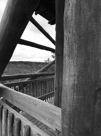 Made With IPhone 7 Black & White Architecture Built Structure Metal No People Day Sky Nature Bridge Outdoors Bridge - Man Made Structure Transportation Connection Rusty Old Railing Abandoned Tree Sunlight Plant Damaged