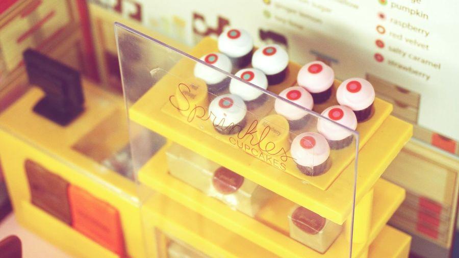 Macro_collection Bakery Cupcakes Miniature Dessert Dollhouse Sprinkles Sprinklescupcakes NYC