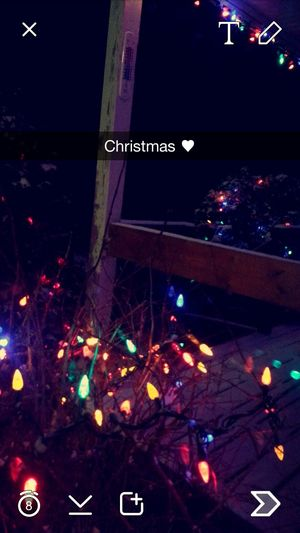 Christmas ♡ Light Winter Snow