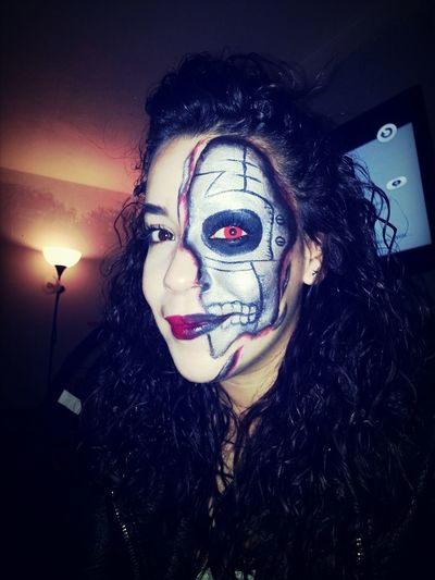 Halloween Horrors Check This Out Makeup