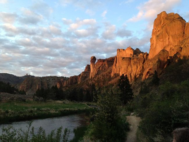 Hiking around Smith Rock in Oregon Sunset End Of The Day Mountain View Nature_collection EyeEm Nature Lover