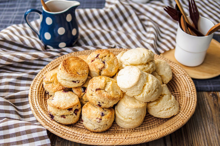 Mulberry Scones Bakery Basket Bread Dessert Homemade Mulberry No People Scones Sweet Food
