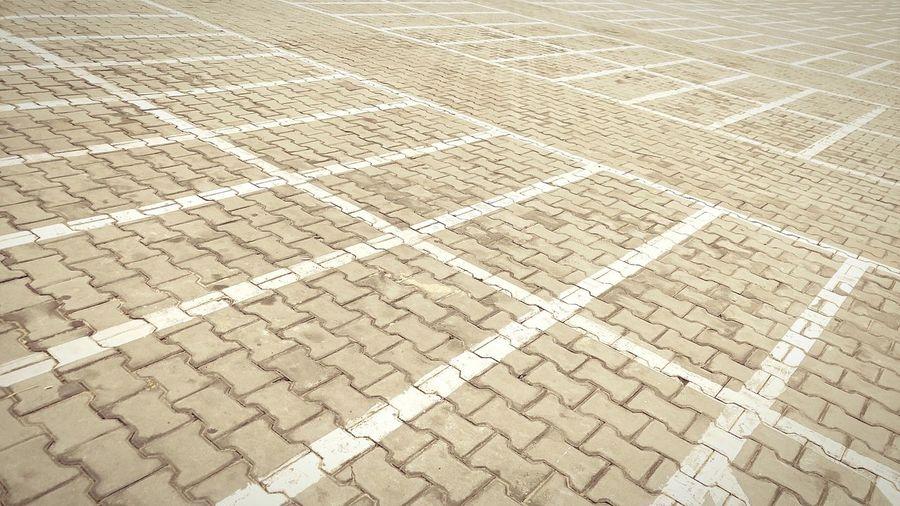 Empty Space Emptystreets Emptyparkinglot Pattern Backgrounds Day Outdoors No People Textured  Salt - Mineral Simple Things Playground LGV10 Minimalist
