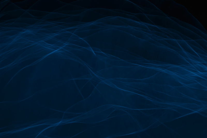 Experimental Light Photography Light Painting Abstract Black Background Blue Full Frame Night No People Studio Shot