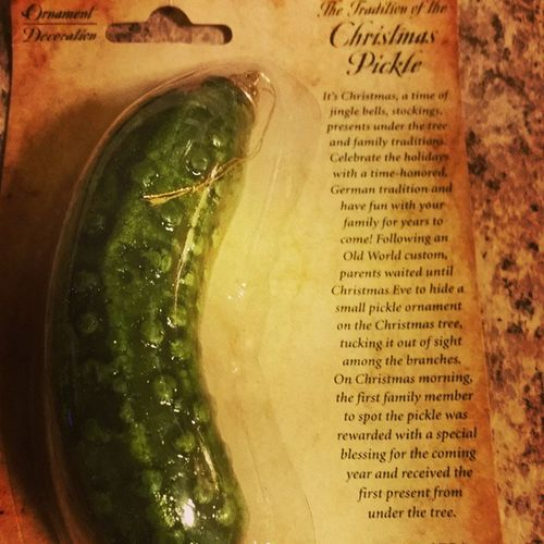 Christmas Pickle Whosexcited Imgoingtowin londonharvey mystory