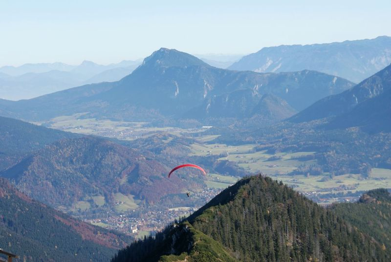Wind Fly Free Freedom Paragliding Hills Highland Fog Foggy Cloudy Austria Forest Green Hills Mountain On Top Top Of The World Top Of The Mountain Culture Of The Holidays High Camera: EOS 500d
