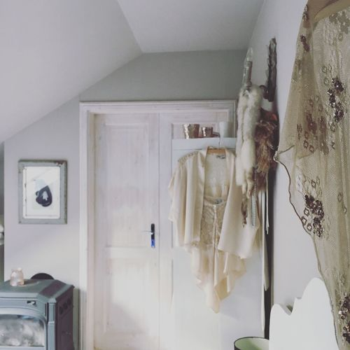 Indoors  Home Interior No People Hanging Architecture Close-up Day Coathanger Kamin Woman Dress Woman Clothing Berlin