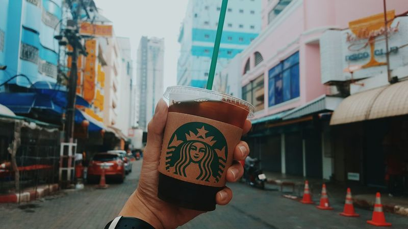 Morning Hatyai Coffee Americano Hatyai Morning Wakeup Chilling Starbucks First Eyeem Photo
