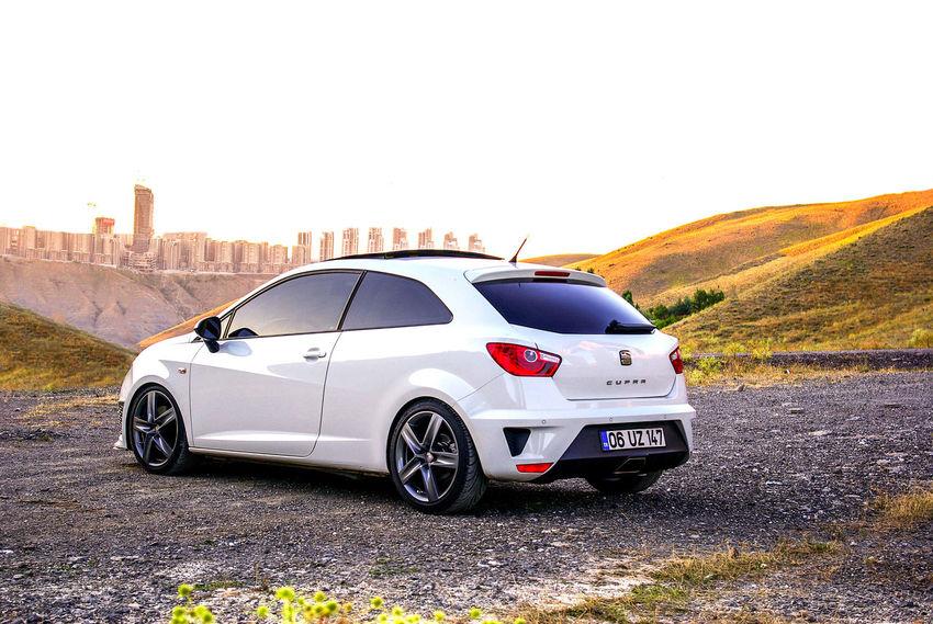 Seat Ibiza Cupra Seat Ibiza Cupra Real People Leon White Ankara Turkey 1.4 Tsi GTI Automobile Racing Low Angle View EyeEmNewHere