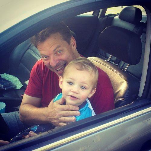 Poppy loves Micah! Familyrocks