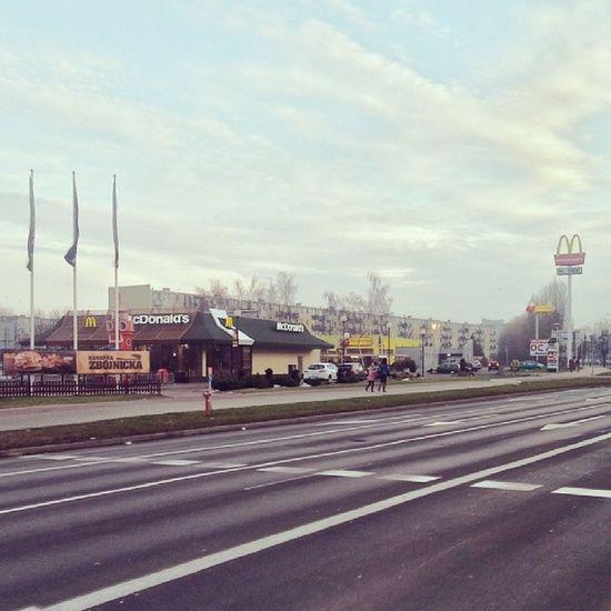 W McDonald's spotkajmy się; ) Gdansk Przymorze Mcdonalds Ilovegdn trojmiasto 3city remik fotomagik fastfood