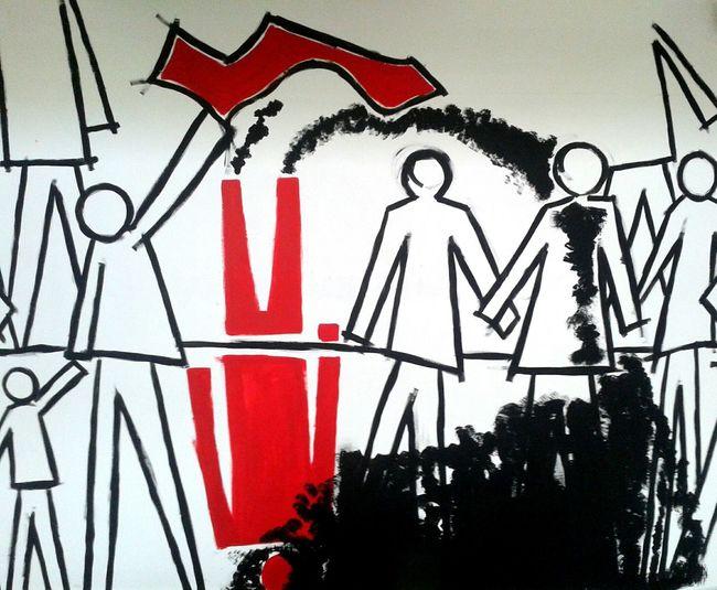 Socialspace Inmytown Myopera CollettiviautonomiAcerra Entre/beetween Streetart Murales