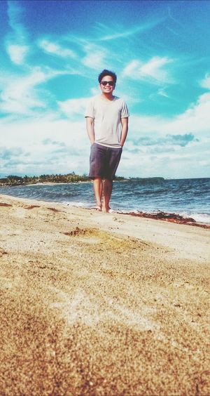 That's Me Hello World Landscape Life Is A Beach