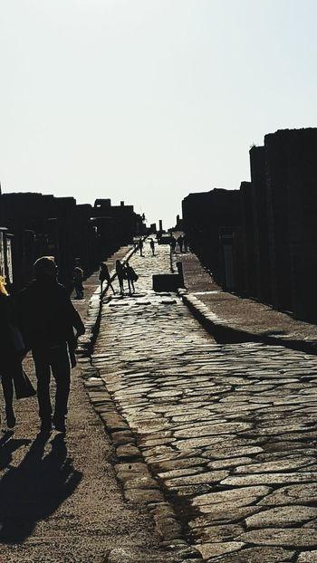 Neighborhood Map Pompei Scavi