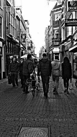 Downtown Utrecht , Netherlands People In Transit EE_Daily: Black And White Black & White Photo's Hdr_Collection