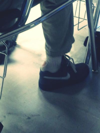Holey Socks -_- Smh