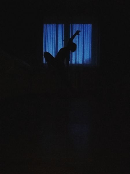 Full Length Silhouette Performance Musician Arts Culture And Entertainment Performing Arts Event Music Dancing Curtain