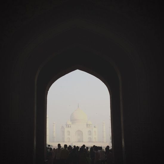 Arch Built Structure Architecture History Dome Real People Clear Sky Travel Destinations Indoors  Large Group Of People Day Building Exterior Nature Sky People