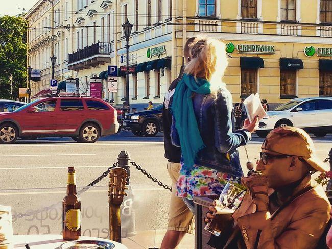 Buffalo Soldier Goldenman Streetphotography Urban Summer Urban Lifestyle Streetcafe