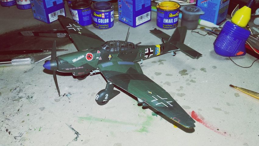 Junkers Ju87 G/D Stuka Ww2warbirds Ww2 Model Airplane Model Antalya Turkey