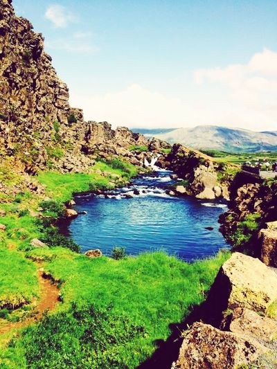 Water_collection Nature Relaxing Colors Beautiful Iceland Green
