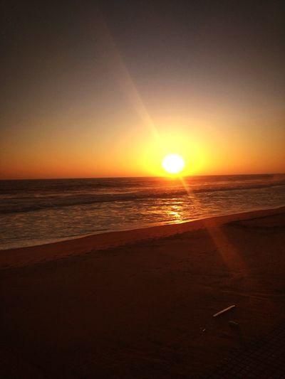 REDIMICAMERATEST Redmiy2 Water Sea Sunset Beach Wave Sand Horizon Sunlight Sun Silhouette Seascape First Eyeem Photo
