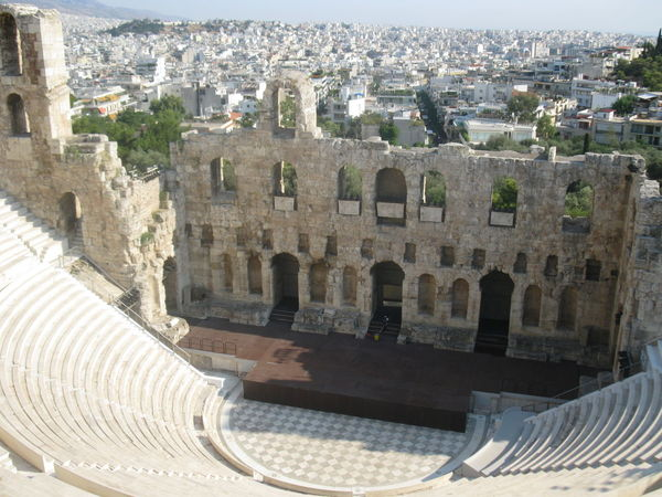 Ancient Ancient Civilization Archaeological Sites Architecture Athens, Greece Theatre