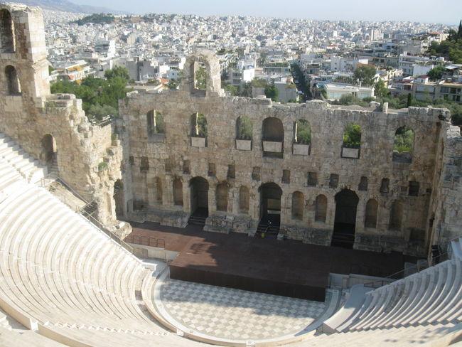 Ancient Ancient Civilization Archaeological Sites Architecture Athens, Greece Theatre