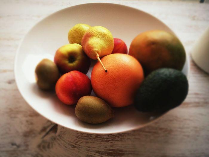 Close-up of fruit bowl
