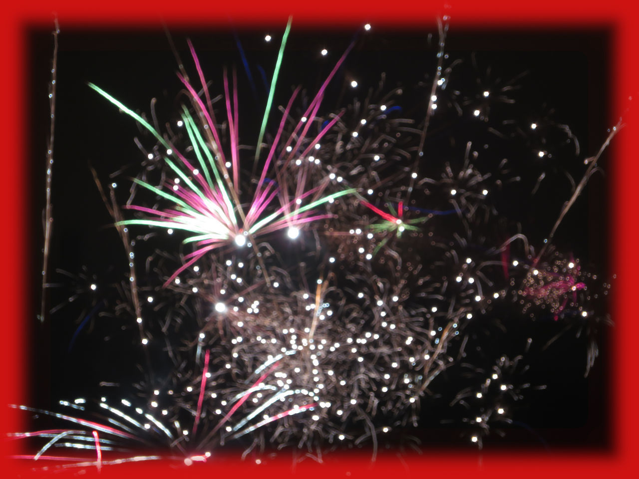 celebration, illuminated, night, event, firework, arts culture and entertainment, firework display, motion, long exposure, glowing, multi colored, no people, exploding, firework - man made object, light, blurred motion, sparks, nature, dark, outdoors, sparkler