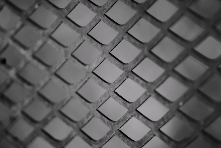 Art Backgrounds Black And White Cimetary Close-up Continuous Detail Full Frame Geometric Shape Metal No People Pattern Relaxing Repetition Repitition