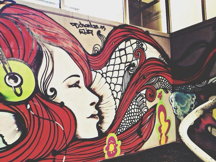 Streetart Underground UrbanART Street Art/Graffiti