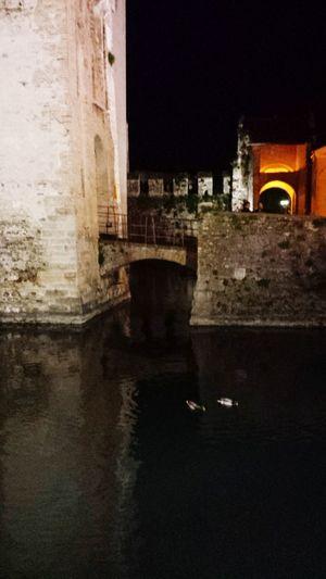 Oldtown Bridge Castello Sirmione Italy