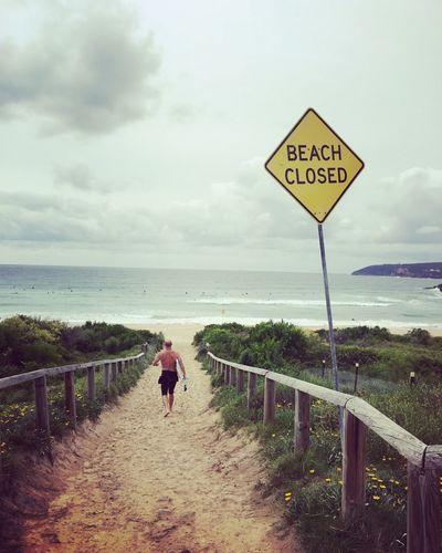 Freshwater Beach Sydney Sydney, Australia Surf Beach Beach Closed Cloudy Beach