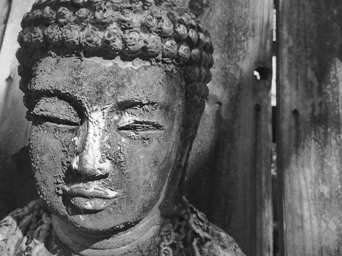 Statue Human Representation Sculpture Outdoors Close-up No People Day L. Jeffrey Moore Buddhism Buddha Face Lieblingsteil
