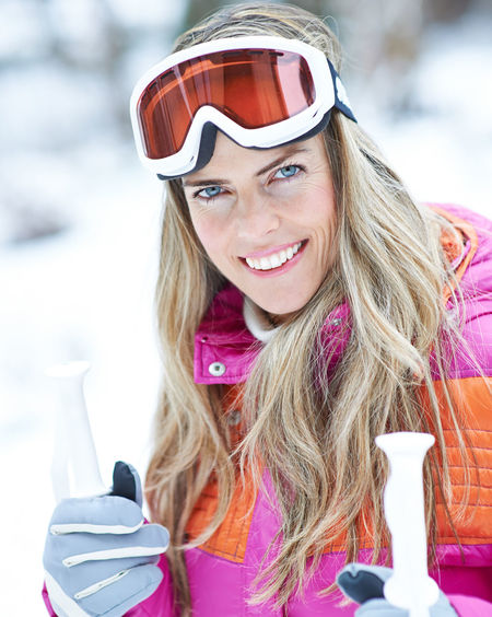 portrait of a smiling young woman in winter Active Adult Beautiful Woman Blond Hair Clothing Cross-Country Skiing Front View Fun Hair Hairstyle Happiness Happy Headshot Holiday Leisure Leisure Activity Lifestyle Lifestyles Long Hair Looking At Camera Nature On The Way One Person Outdoors Outside People Portrait Real People Ski Ski Goggles Ski Holiday Ski Poles Ski Trip Skier Skiing Smile Smiling Snow Sport Warm Clothing Winter Winter Holiday Winter Sports Woman Women Young Adult Young Women