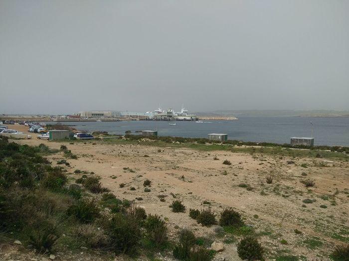 Cirkewwa Ferry Terminal Ferry Malta Mediterranean  Cirkewwa Sea Sea And Sky Sky And Sea