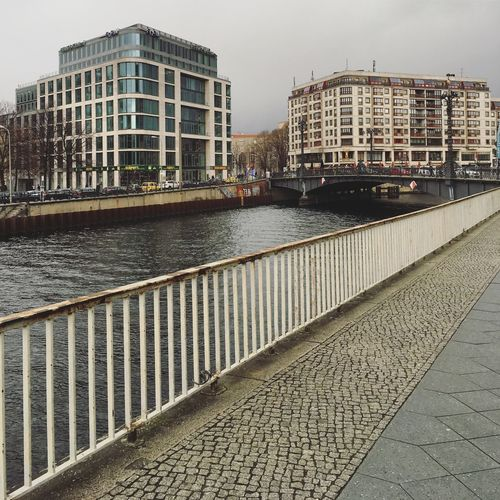 Architecture Architecture_collection Berlin Photography Neubau Perspective Railing Spree Abstract Architecture Berliner Ansichten Berlinstagram Building Exterior Built Structure City Cityscape Cobblestone Day Glass Facades Minimal No People Outdoors Sky Skyscraper Spree River Water