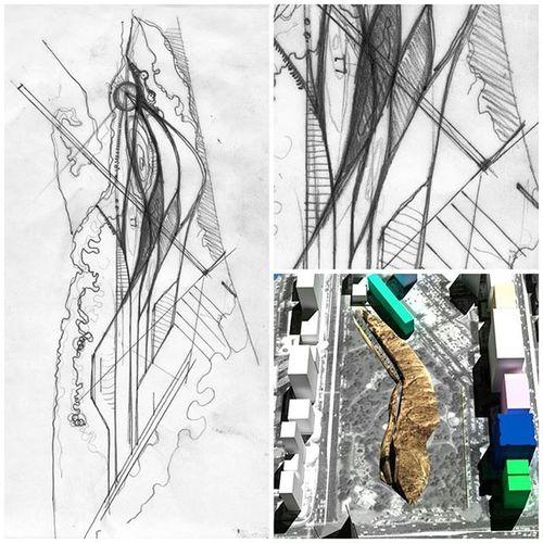 When I was a landscape architecture student, 2006. Landscape ARCHITECT Landscapedesign Landscapearchitecturelife LandscapeArchitecture Sketch Arqsketch Qeshm Qeshmisland