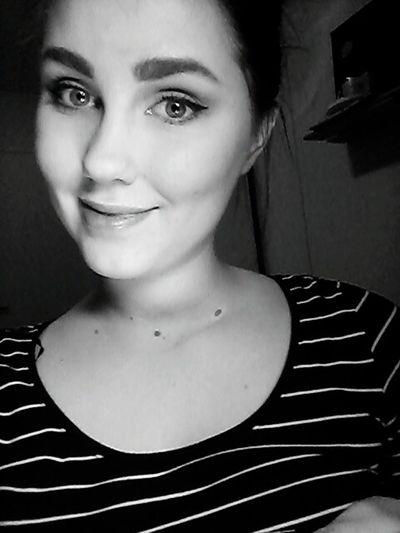Me Selfie Makeup Finnishgirl  Taking Photos B&w Black & White That's Me