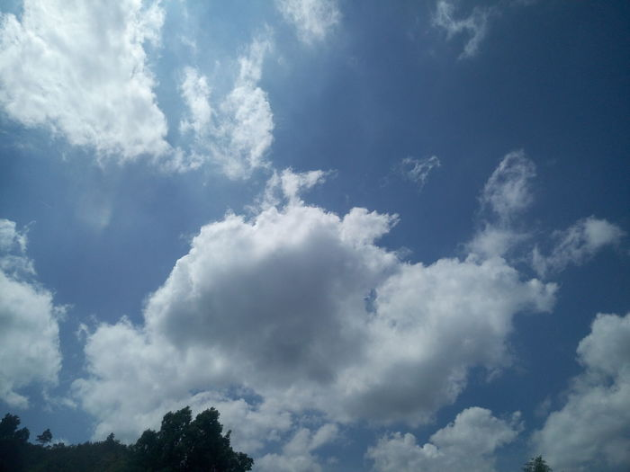 Backgrounds Beauty In Nature Blue Cloud - Sky Day Full Frame Low Angle View Nature No People Outdoors Scenics Sky Sky Only Tranquility